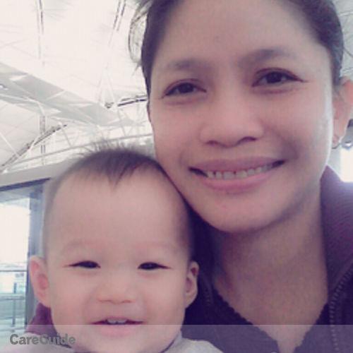 Canadian Nanny Provider Elvina Ocampo's Profile Picture