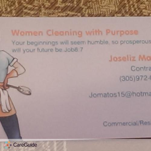 Housekeeper Provider Joseliz Matos's Profile Picture