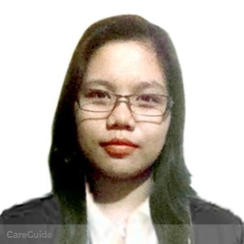 Canadian Nanny Provider Genelyn Dela Cruz's Profile Picture