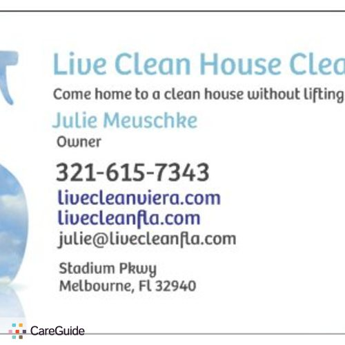 Housekeeper Provider Julie McCauley's Profile Picture