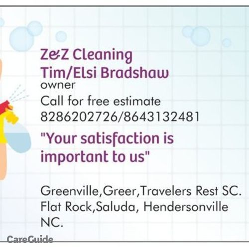 Housekeeper Provider Elsi Bradshaw's Profile Picture