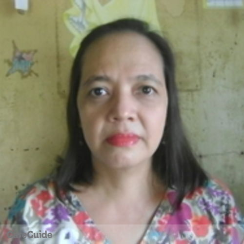 Canadian Nanny Provider Harieraya Recosana's Profile Picture