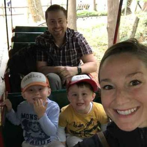 Hi, I'm Katie. We're a family of four with two 4-year olds and soon a family of five. We're looking for a family helper.