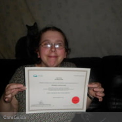Canadian Nanny Provider Deirdre Hart's Profile Picture
