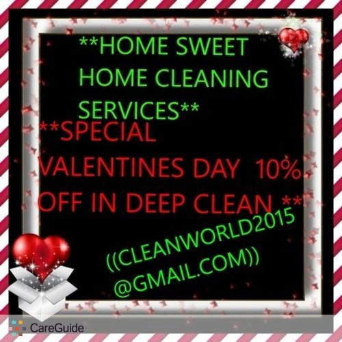 Housekeeper Provider Home Sweet Home Sweet's Profile Picture