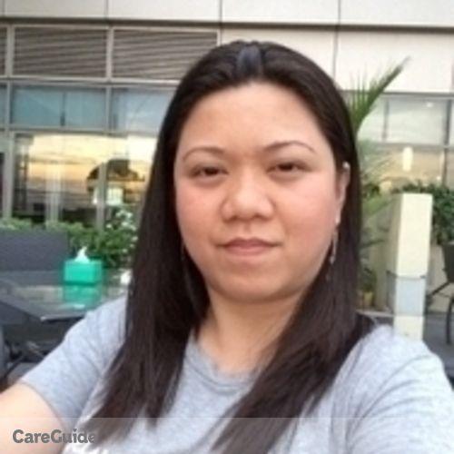 Canadian Nanny Provider Jessica Dadiz's Profile Picture