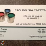 No Bs Painting!
