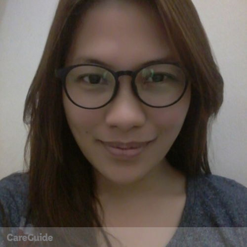 Canadian Nanny Provider Cherry Mosquera's Profile Picture