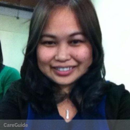 Canadian Nanny Provider Jingle Morales's Profile Picture