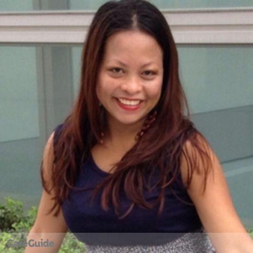 Canadian Nanny Provider Aleli Pena's Profile Picture