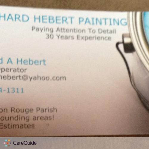 Painter Provider Richard Hebert's Profile Picture