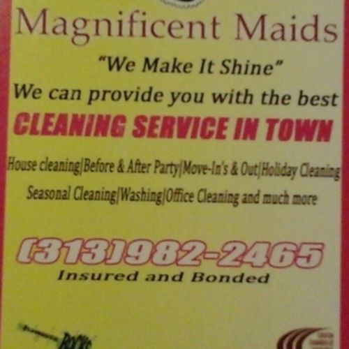 Housekeeper Job MagnificentMaids I's Profile Picture