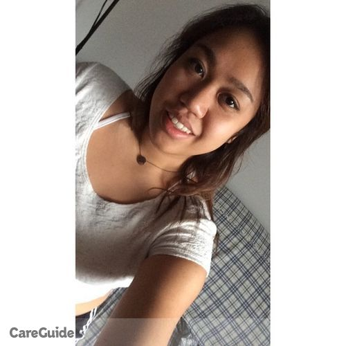 Canadian Nanny Provider Hannah Mateo's Profile Picture