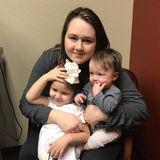 Understanding sitter with kids of her own!
