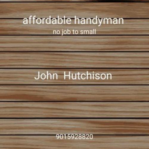 Handyman Provider John Hutchison's Profile Picture