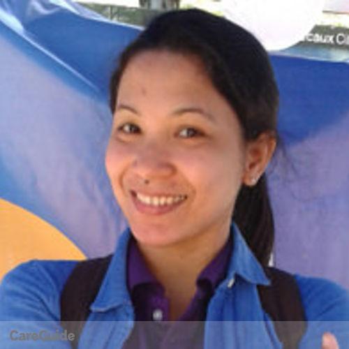 Canadian Nanny Provider Jollyvi H's Profile Picture