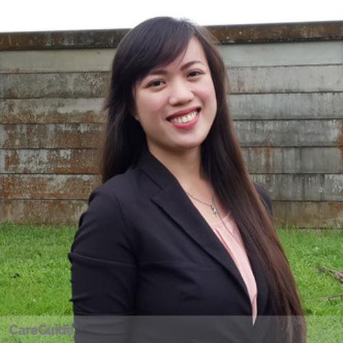 Canadian Nanny Provider Jenalyn L's Profile Picture