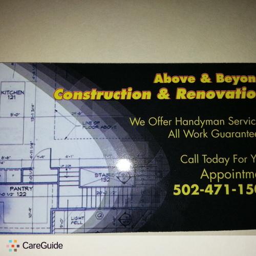 Handyman Provider G C's Profile Picture