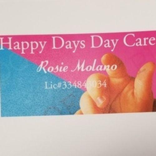 Child Care Provider Rosie Molano's Profile Picture