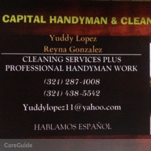 Handyman Provider Yuddy L's Profile Picture