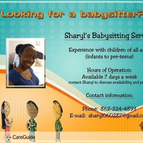 Child Care Provider Sharyl N's Profile Picture