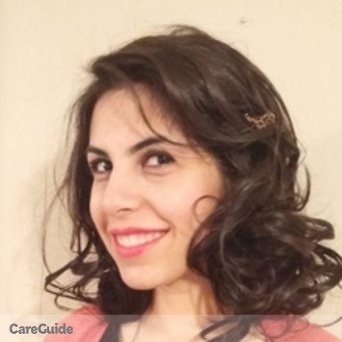 Canadian Nanny Provider Jalehsadat Mahdavimoghaddam's Profile Picture