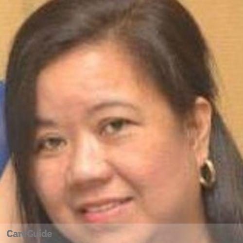 Canadian Nanny Provider Zoraida Frivaldo's Profile Picture