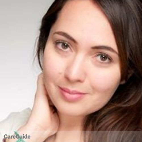 Canadian Nanny Provider Ana M's Profile Picture