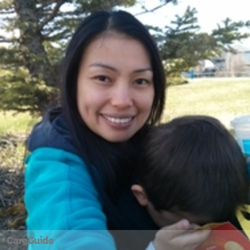 Canadian Nanny Provider Mary Ann Pasion's Profile Picture