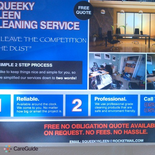 Housekeeper Provider Squeeky Kleen Cleaning Service's Profile Picture