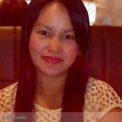 Canadian Nanny Provider Renerose Acedillo's Profile Picture