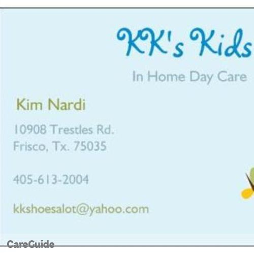Child Care Provider Kimberly N's Profile Picture