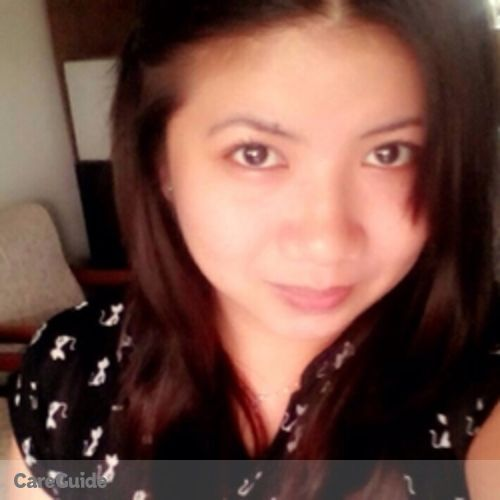 Canadian Nanny Provider Rose Marchell Ong's Profile Picture