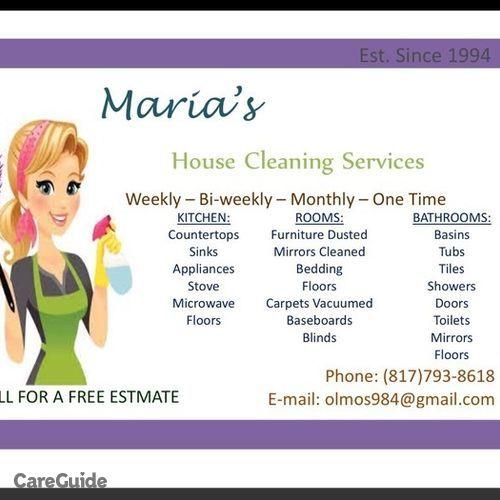 Housekeeper Provider Daniela Lomas's Profile Picture