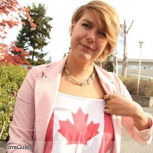 Canadian Nanny Provider Samantha Winslow's Profile Picture