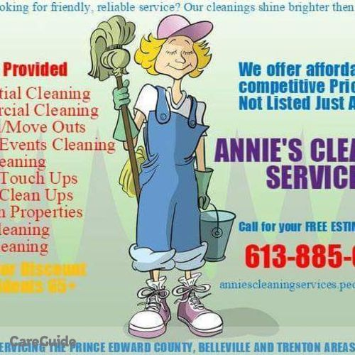Housekeeper Provider Anne Finley's Profile Picture