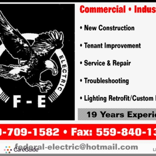 Electrician Provider Federal Electric's Profile Picture