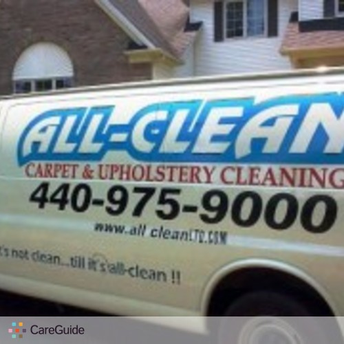 Housekeeper Provider All Clean's Profile Picture