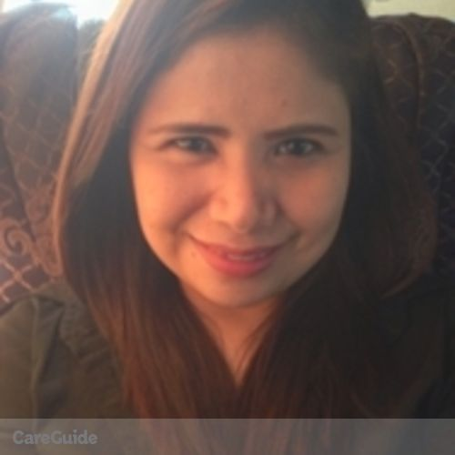 Canadian Nanny Provider Marian Aileen Calixto's Profile Picture