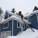 Roof Snow Removal!