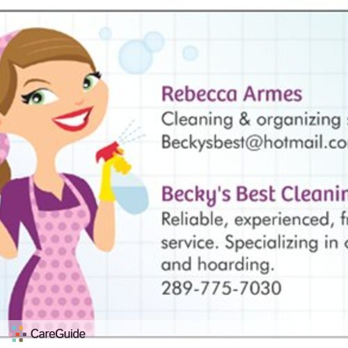 Housekeeper Provider Becky Armes's Profile Picture