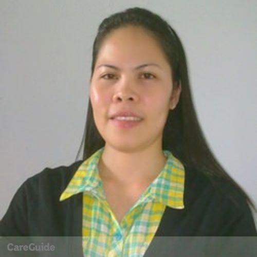 Canadian Nanny Provider Grace Alvarico's Profile Picture