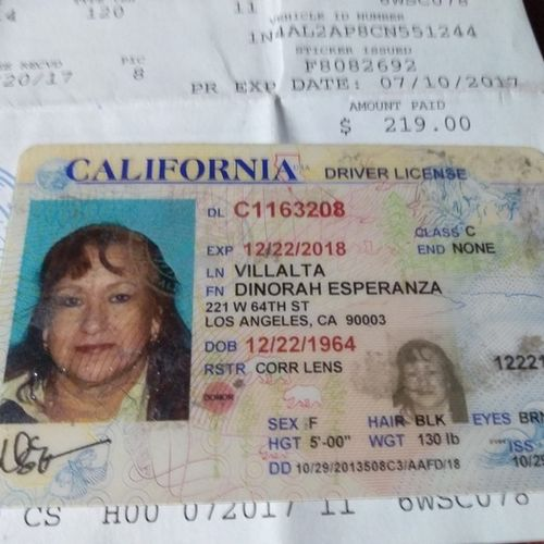 Housekeeper Provider Dinorah V's Profile Picture