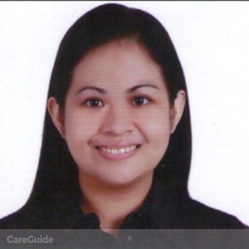 Canadian Nanny Provider Blessilda M's Profile Picture