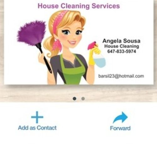 Housekeeper Provider Angela Sousa's Profile Picture