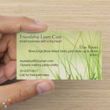 Friendship Lawn Care small business with a big heart
