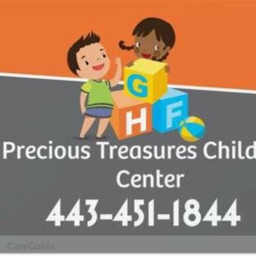Child Care Provider Precious Treasures's Profile Picture