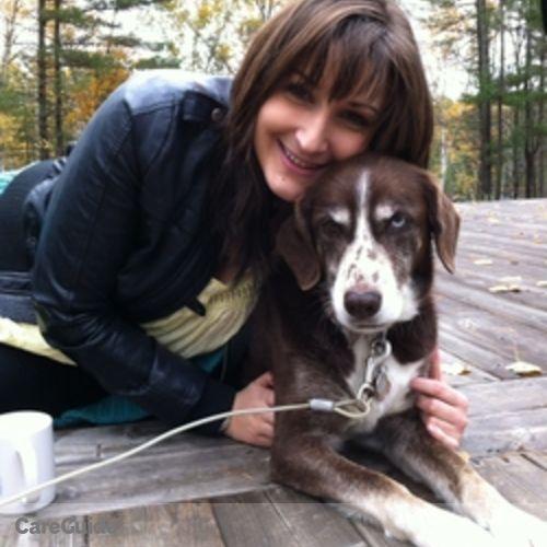 Canadian Nanny Provider Zoe G's Profile Picture