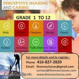 Quality Tutoring and Mentoring Services at Affordable Rates: Grades 1 to 12