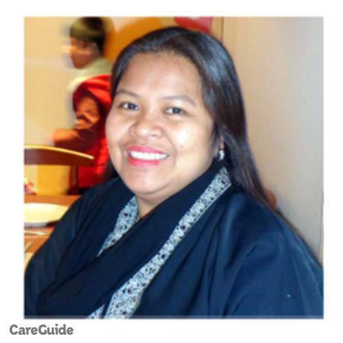 Canadian Nanny Provider Crisanta Felix's Profile Picture